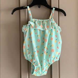 Old Navy One Piece Swim Suit 6-12 Months